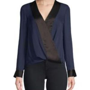 L'AGENCE silk blouse